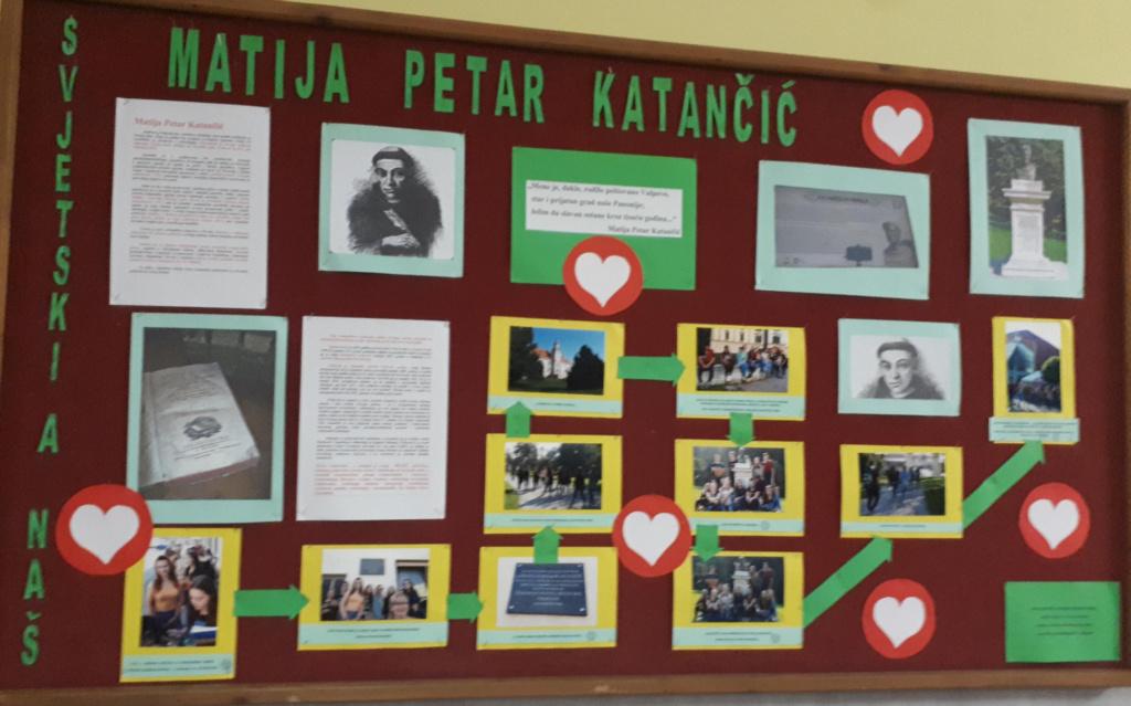 ZAJEDNIČKA ŠETNJA VALPOVOM I POSJET LOKALITETA VEZANIH UZ M. P. KATANČIĆA